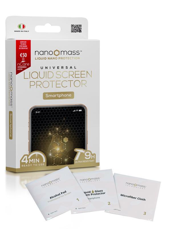 NANOMASS Monodose per SMARTPHONE with nCare