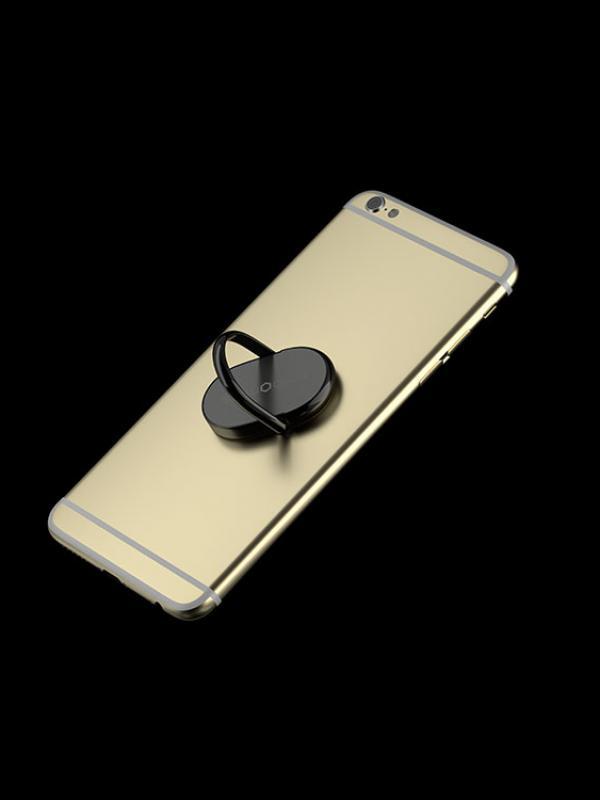 nRiNG - Anello di Supporto per Smartphone, colore nero